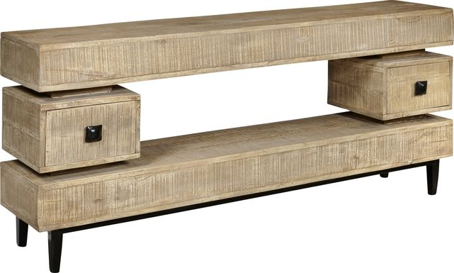 Indianola Brown 69 in. Console