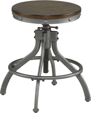 Industry Place Cherry Adjustable Counter Height Stool