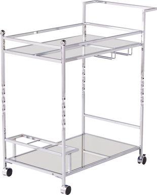 Ingress Silver Bar Cart