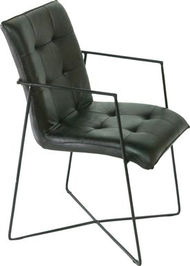 Innsbrook Black Arm Chair (Set of 2)