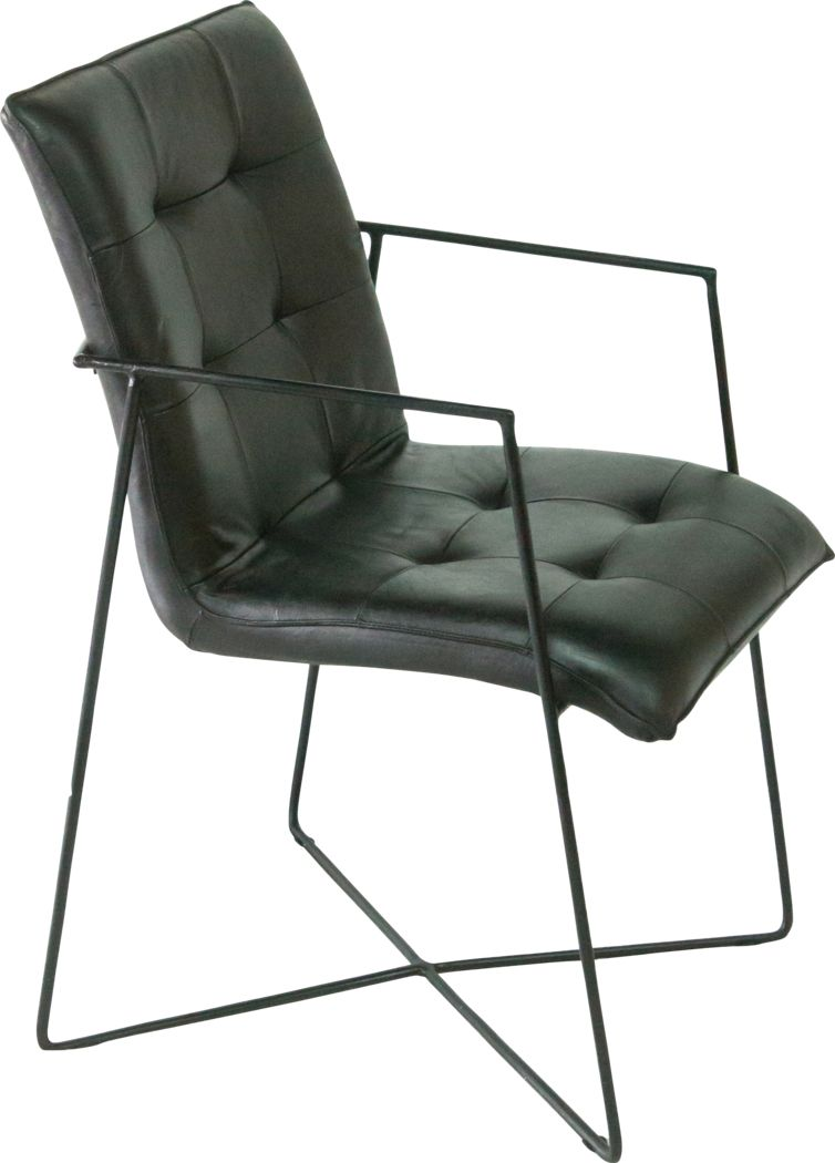 Innsbrook Black Arm Chair (Set of 2)