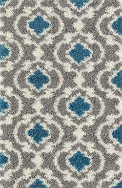 Irenee Turquoise 3'3 x 5' Rug