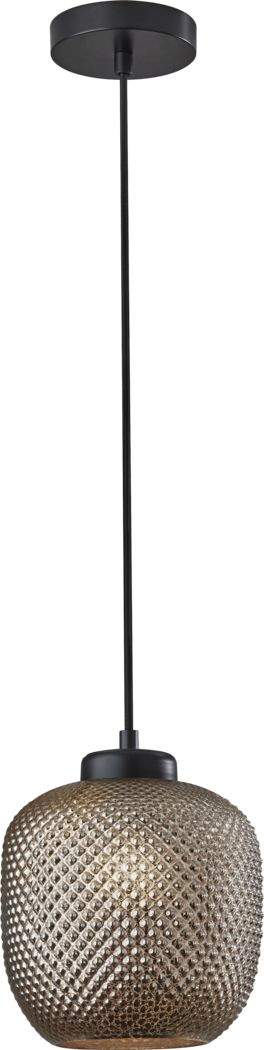 Iroquois Loop Bronze Pendant