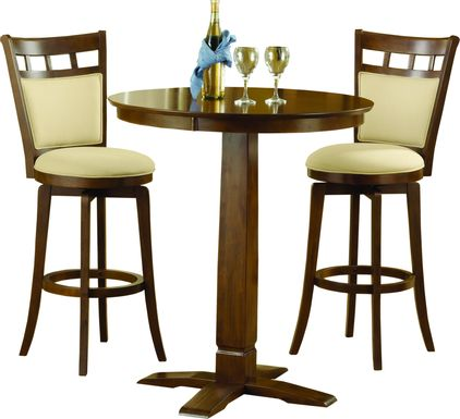 Irwell Cream 3 Pc. Bistro Table Set