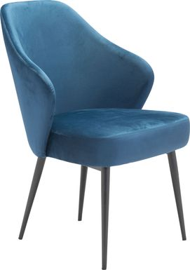 Isabeau Blue Side Chair