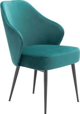 Isabeau Green Side Chair