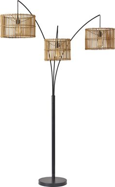 Isla Way Bronze Arc Floor Lamp