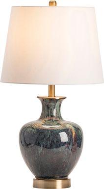Island Pines Teal Lamp