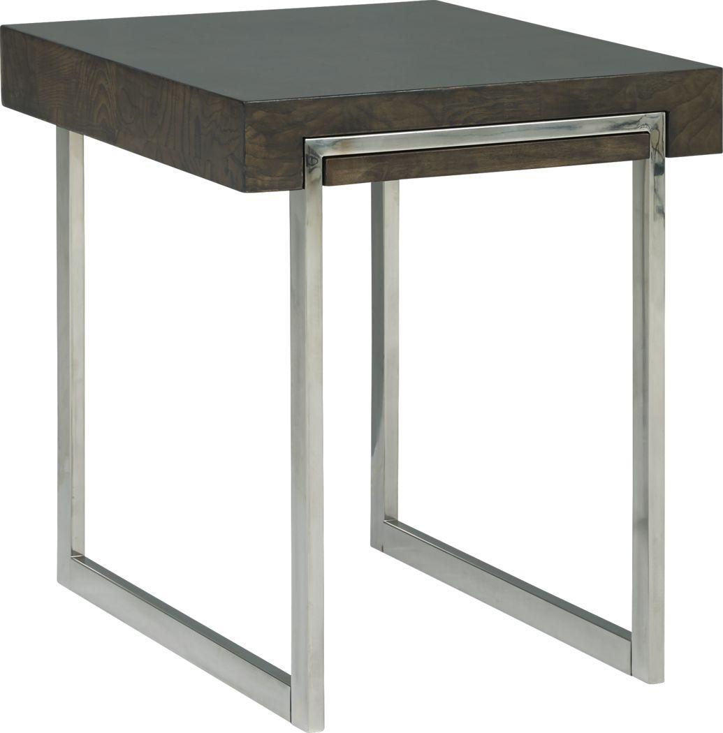 Isleen Gray End Table