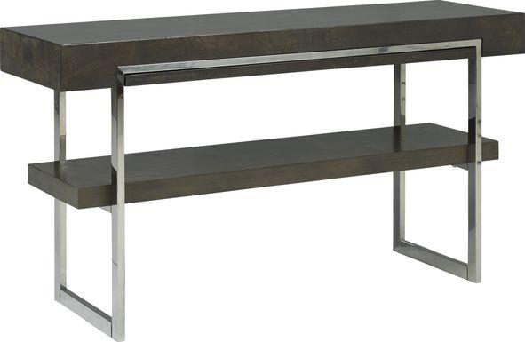 Isleen Gray Sofa Table