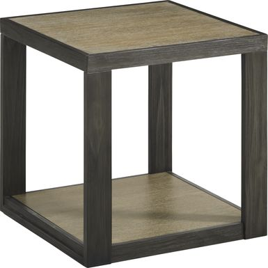 Isley Dark Brown End Table