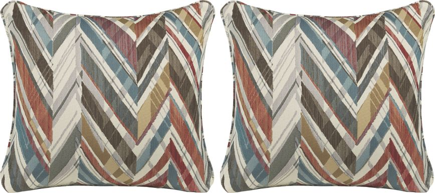 iSofa Apollo Santa Fe Accent Pillows (Set of 2)