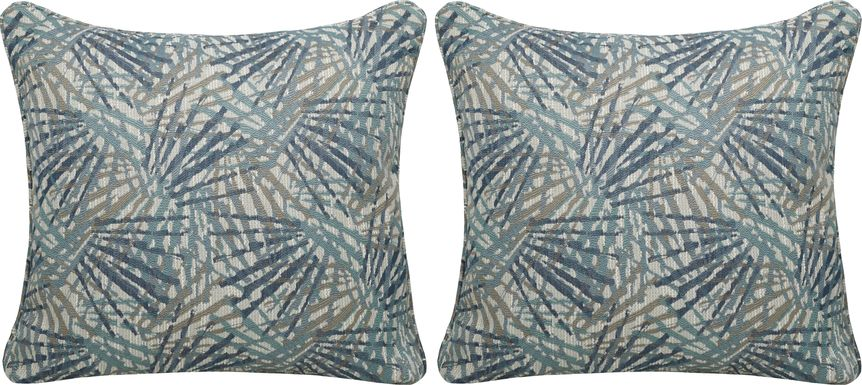 iSofa Array Blues Accent Pillows (Set of 2)