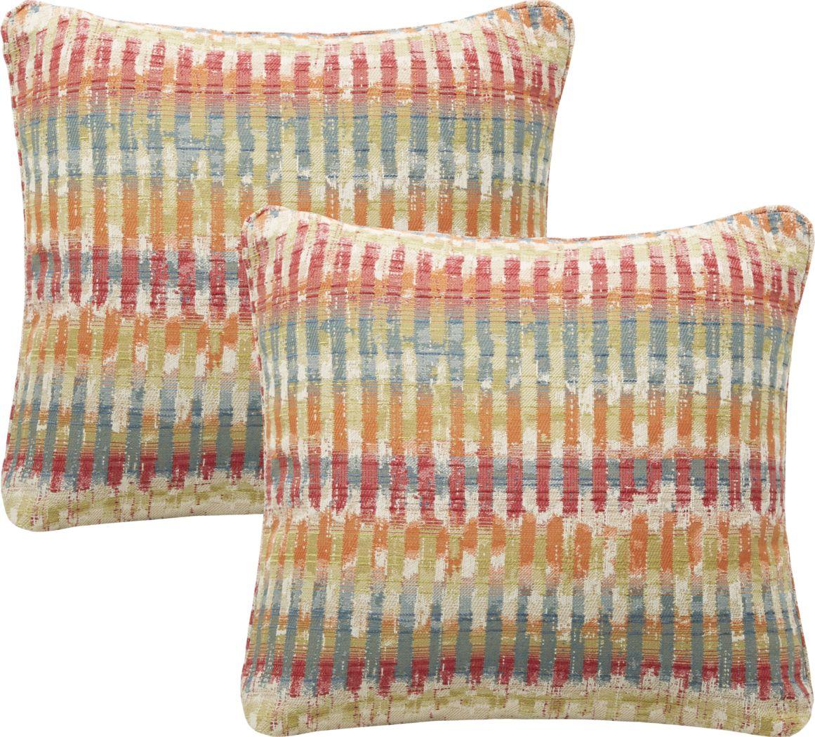 iSofa Handcraft Multi Accent Pillows (Set of 2)