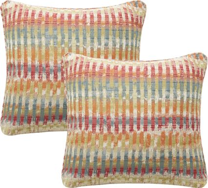 iSofa Handcraft Multi Accent Pillows (Set of 2)