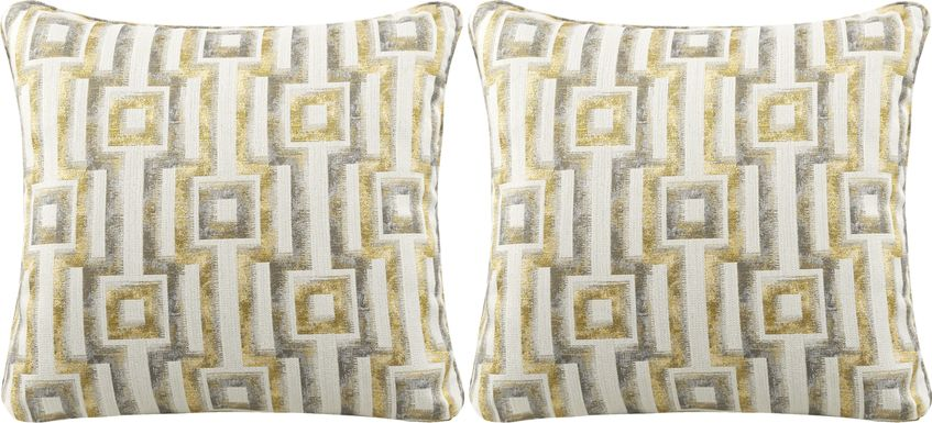 iSofa Hera Zest Accent Pillows (Set of 2)