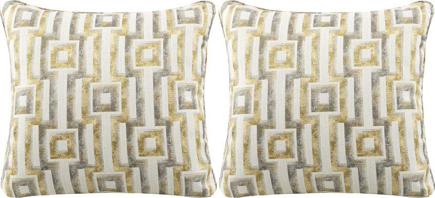 iSofa Hera Zest Accent Pillows (Set of 2)