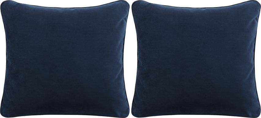 iSofa Navy Accent Pillows (Set of 2)