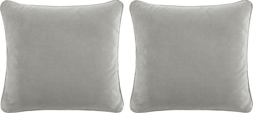 iSofa Smoke Accent Pillows (Set of 2)