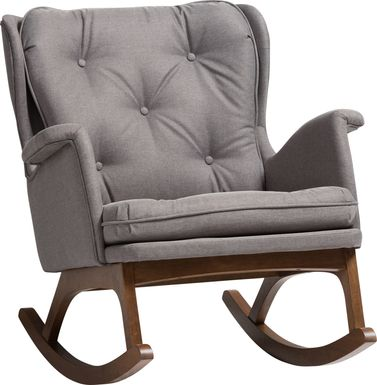 Isolde Gray Accent Chair