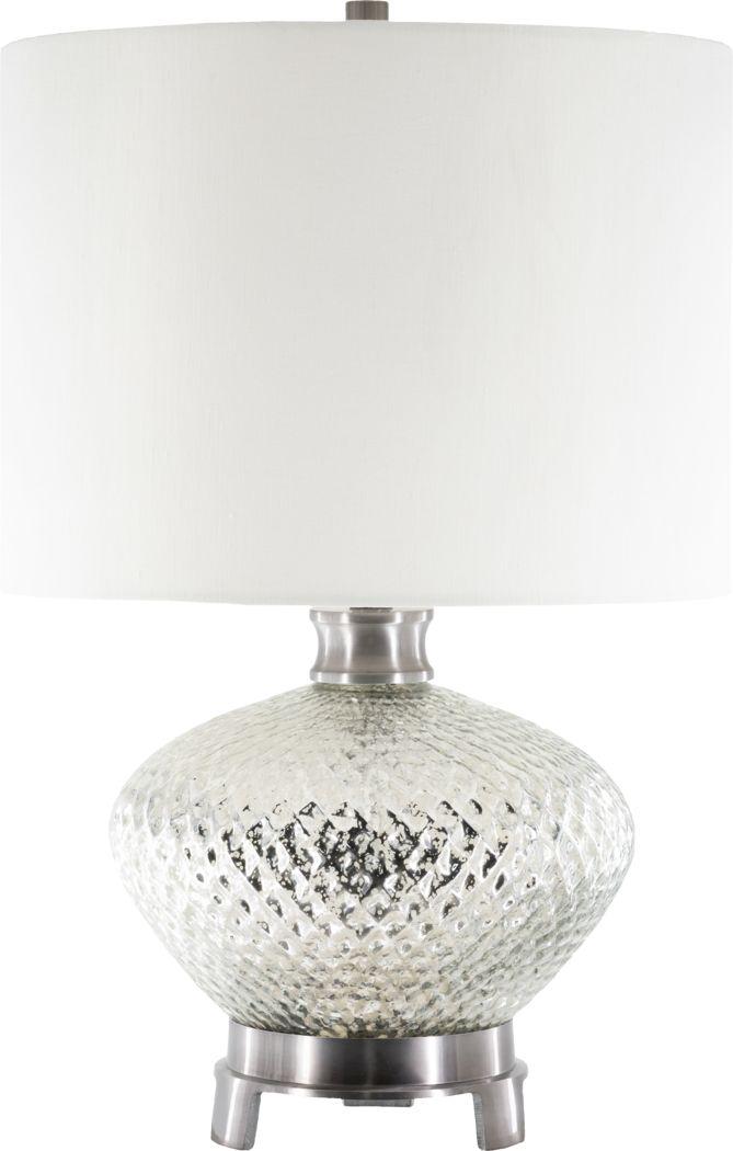 Italia Valia Silver Lamp