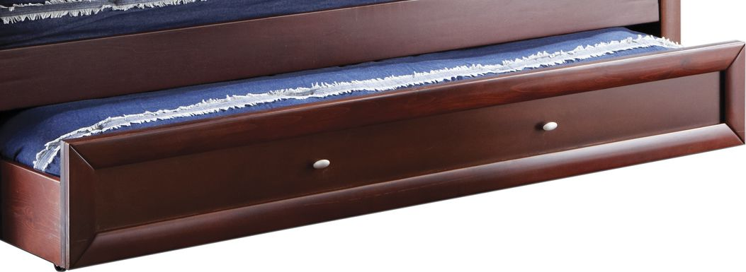 Ivy League Cherry Twin Storage Trundle