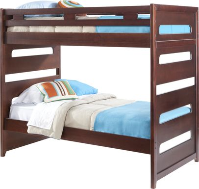 Ivy League Cherry Twin/Twin Bunk Bed