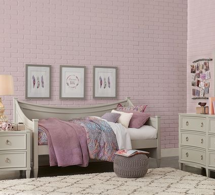 Jaclyn Place Gray 5 Pc Daybed Bedroom