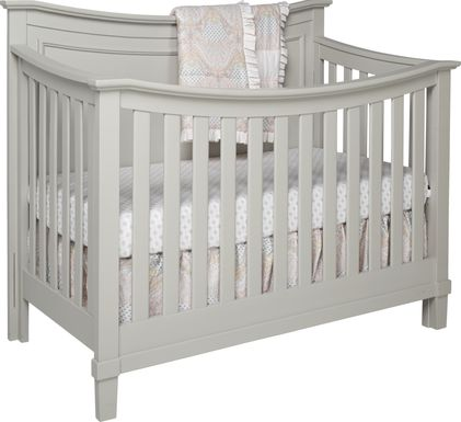 Jaclyn Place Gray Crib