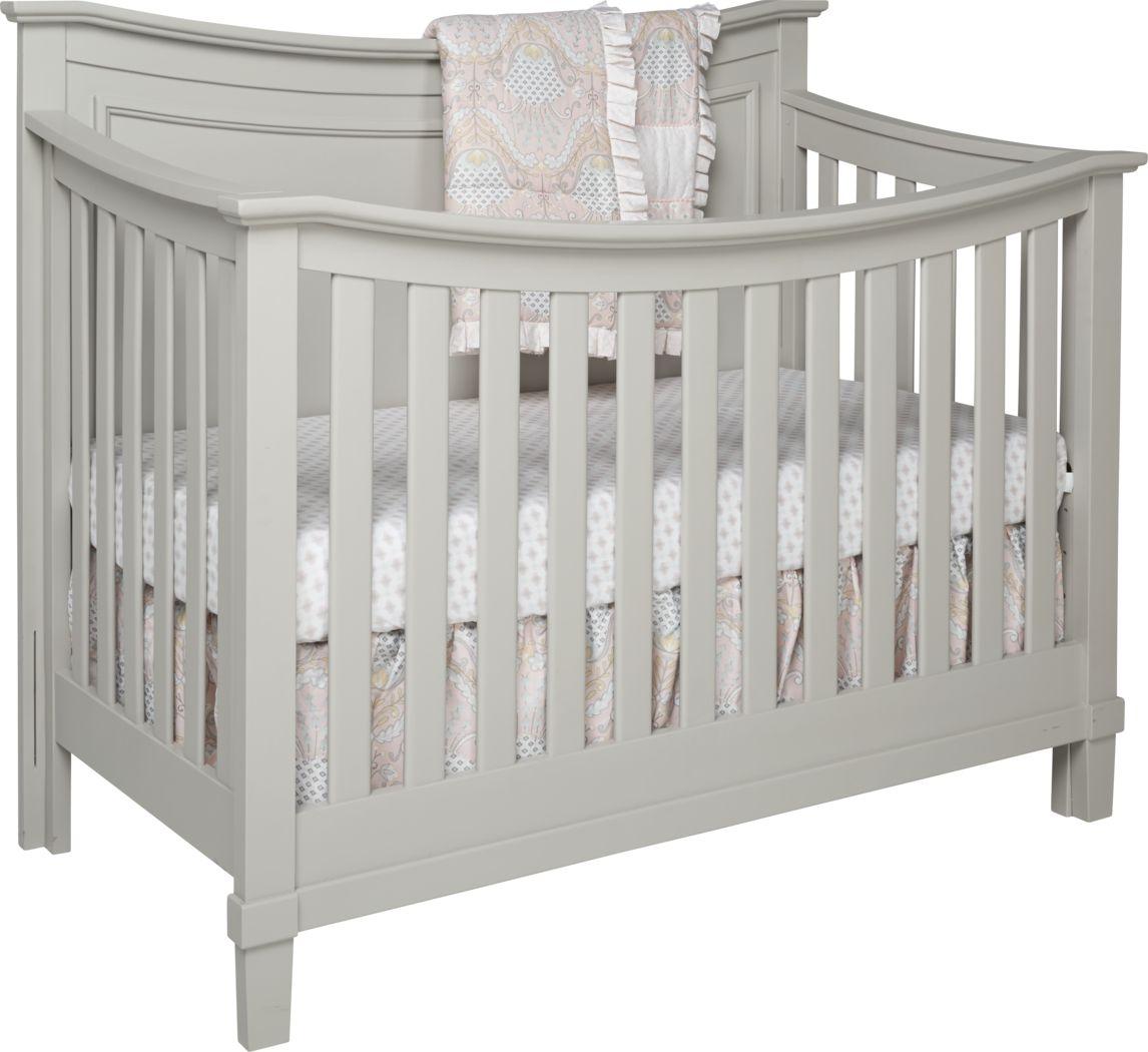 Jaclyn Place Gray Crib