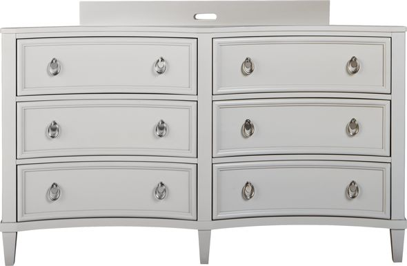 Jaclyn Place Gray Dresser with Changing Topper and Pad