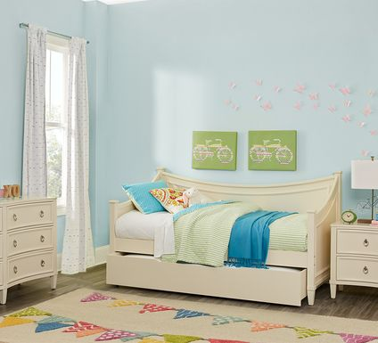 Jaclyn Place Ivory 5 Pc Daybed Bedroom