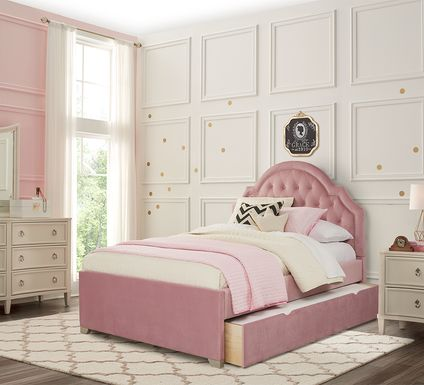 Kids Jaclyn Place Ivory 5 Pc Twin Upholstered Bedroom