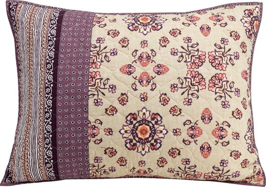 Jahira Purple Decorative Pillow