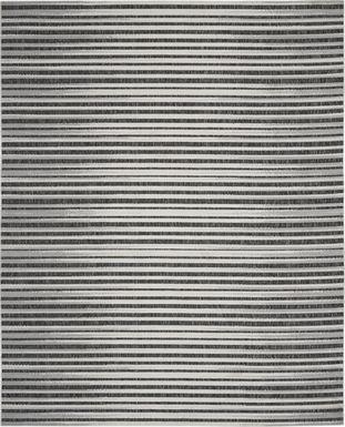 Jalia Dark Gray 8' x 10' Indoor/Outdoor Rug
