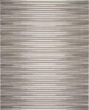 Jalia Light Gray 8' x 10' Indoor/Outdoor Rug