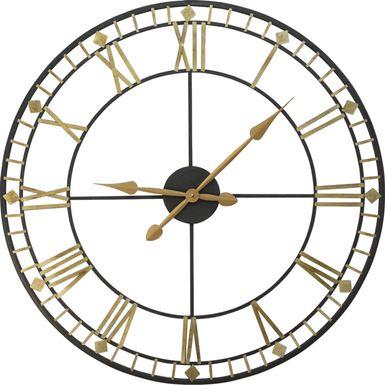 Jamen Gold Clock