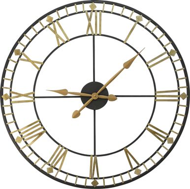 Jamen Gold Clock