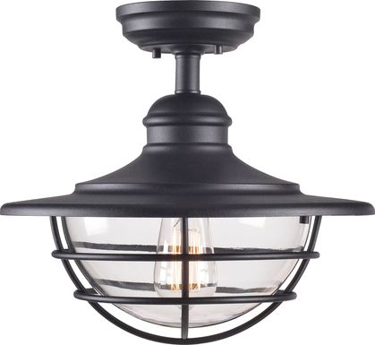 Janoris Black Outdoor Chandelier