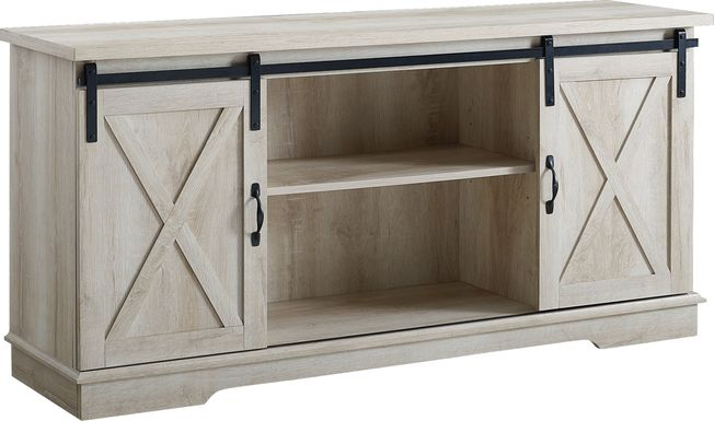 Coneflower White Oak 58 in. Console