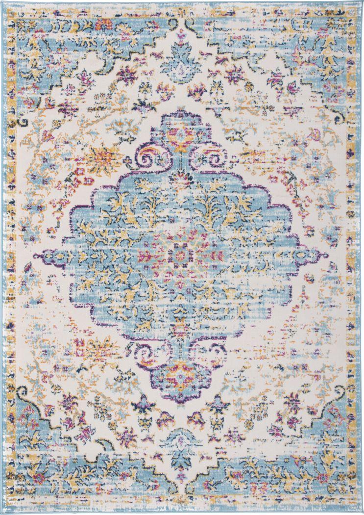 Jasbir Turquoise 8' x 10' Rug