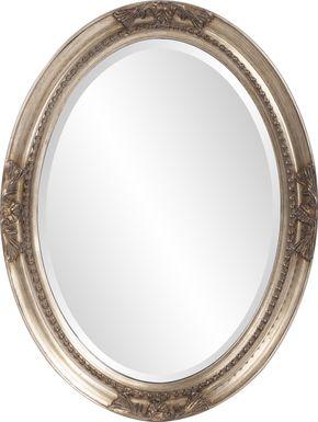Jaylyn Silver Mirror