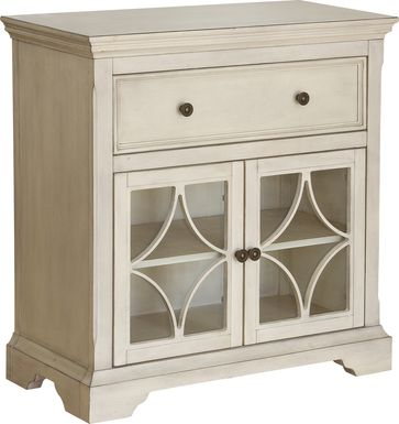 Jelicoe Cream Accent Cabinet