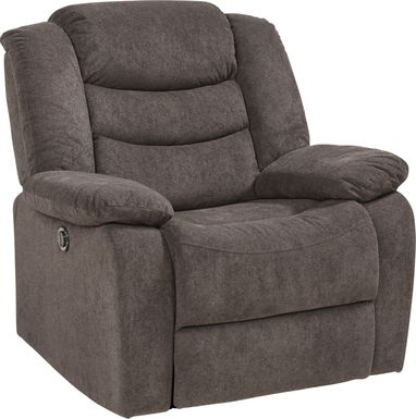 Jensen Beach Chocolate Power Recliner