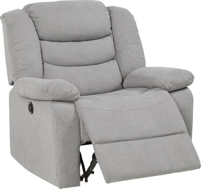 Jensen Beach Gray Power Recliner