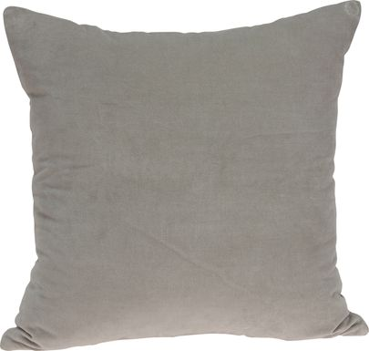 Jensey Gray Accent Pillow