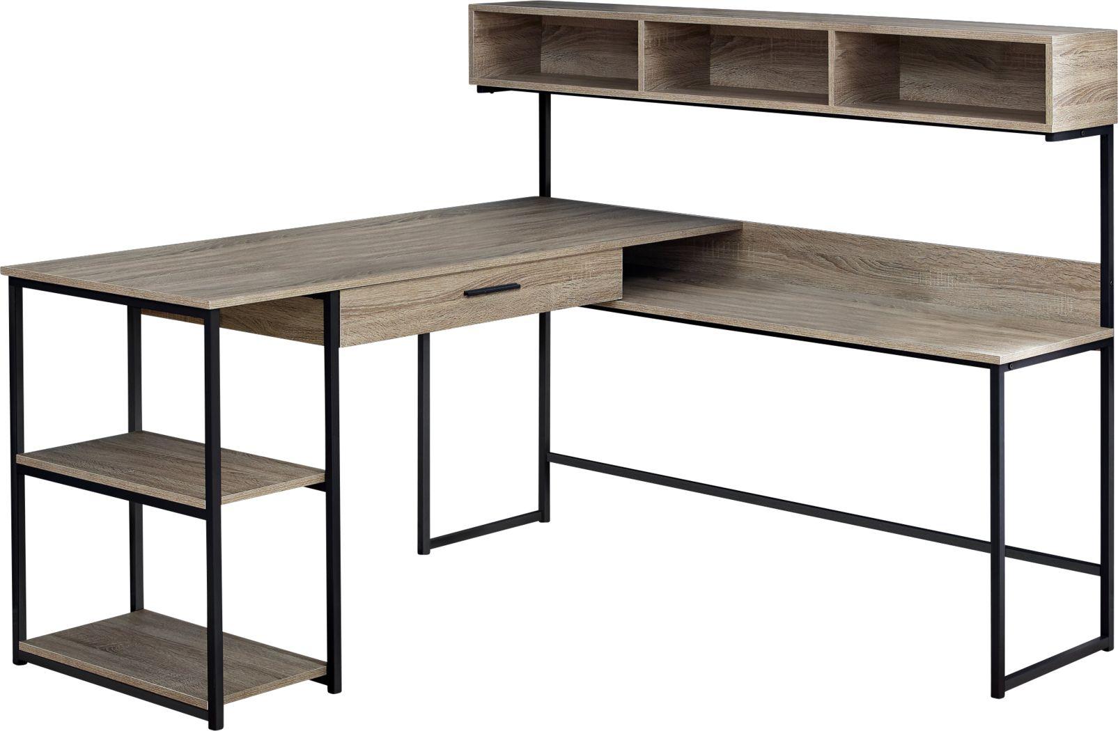 Jessamin Taupe Desk