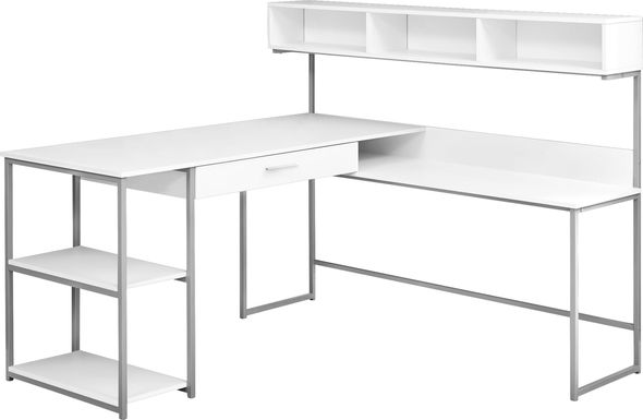 Jessamin White Desk