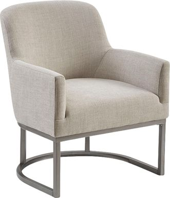 Jimamie Beige Accent Chair