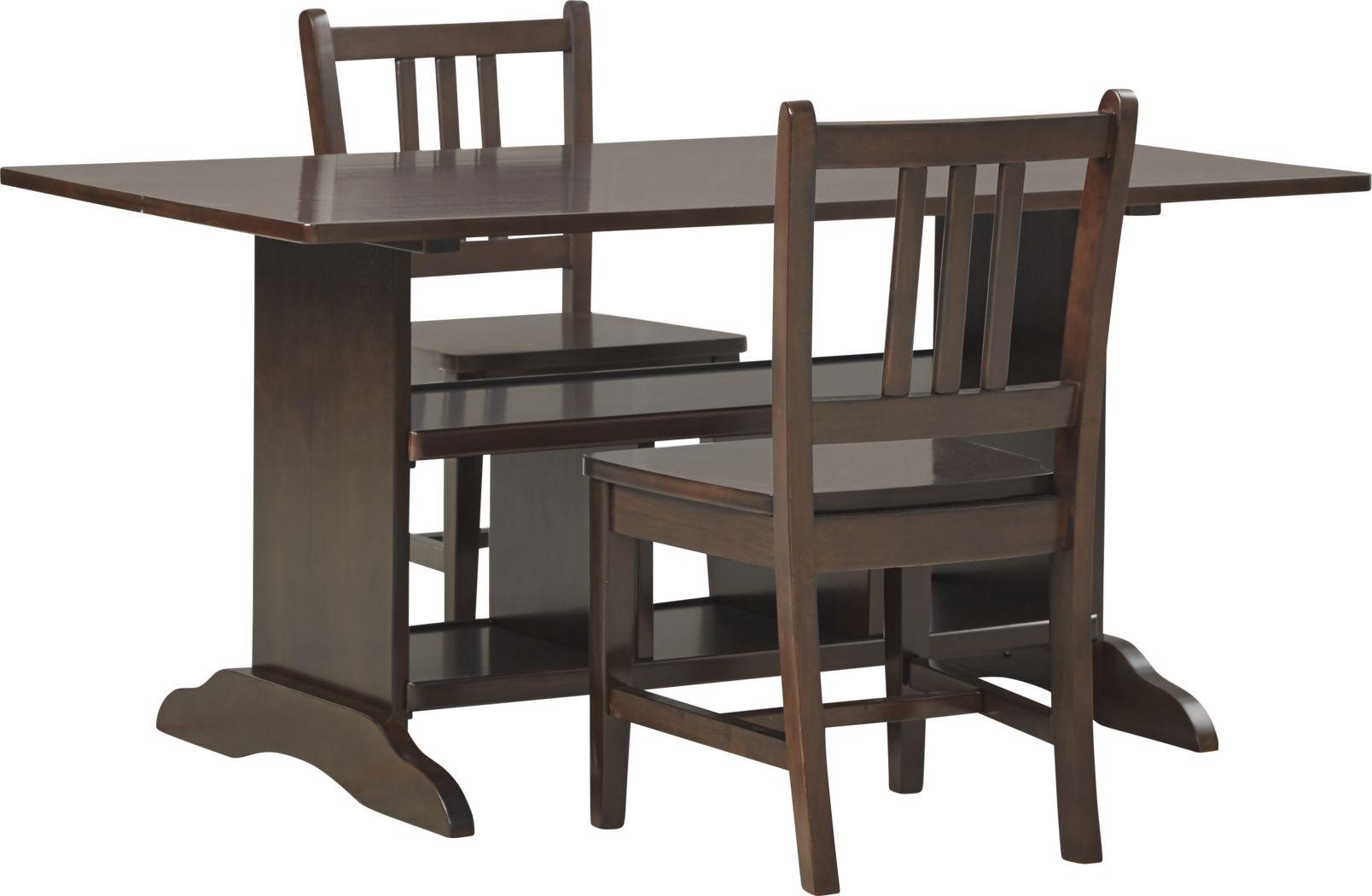Kids Jo Jo Espresso 3 Pc Storage Table Set